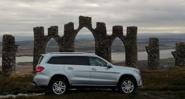 No roads necessary – Mercedes-Benz across Scotland going off-road only