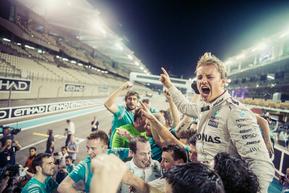 Shocking: Nico Rosberg ends his racing career