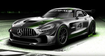 Beast in the making – Mercedes-AMG GT4 ready for the racetrack!