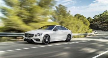 Mercedes-AMG E 50 4Matic Coupe with 450 bhp, here next year