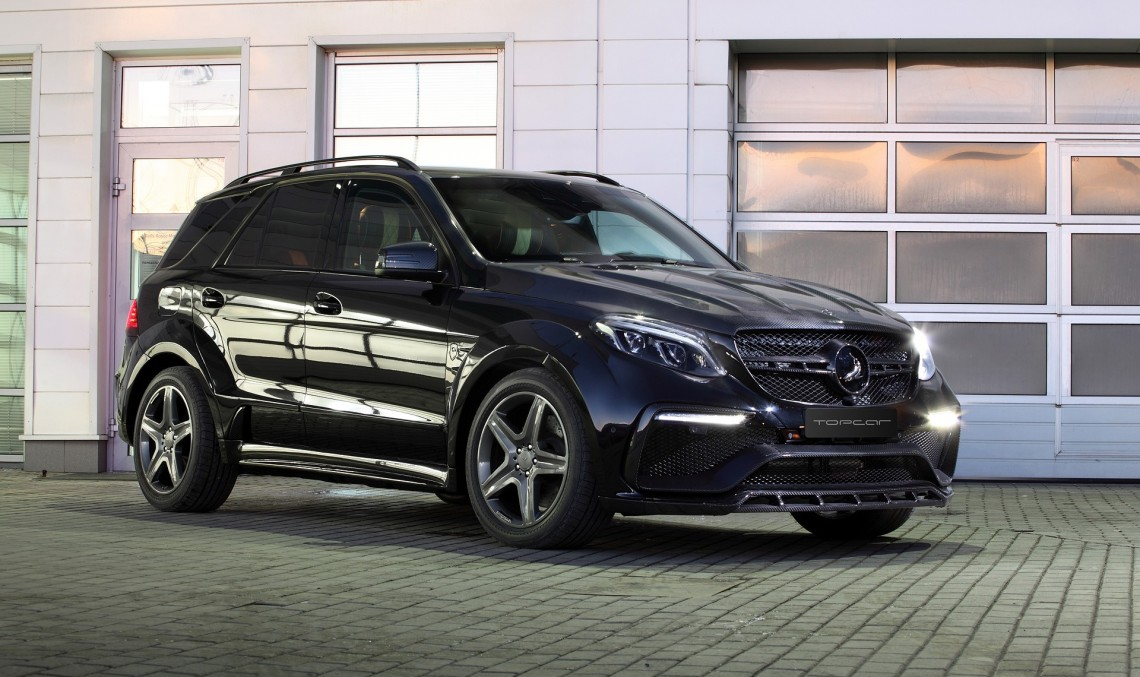 Mercedes-Benz GLE Guard Inferno – Danger makes no sense