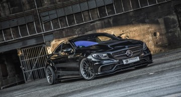 Breathing fire – Mercedes-Benz S-Class Coupe by Prior Design