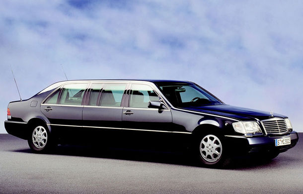 Collectors, rejoice! Vladimir Putin's armored Mercedes is for sale!