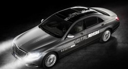 Mercedes shows Digital Light, revolutionary dazzle-free LED headlight tech