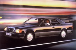 Mercedes-Benz E-Class Coupe Series 124 celebrates its 30th birthday