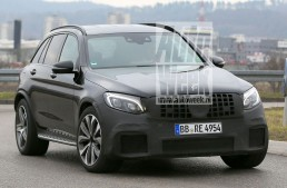 Mercedes-AMG GLC 63 revealed in the clearest spy pictures yet