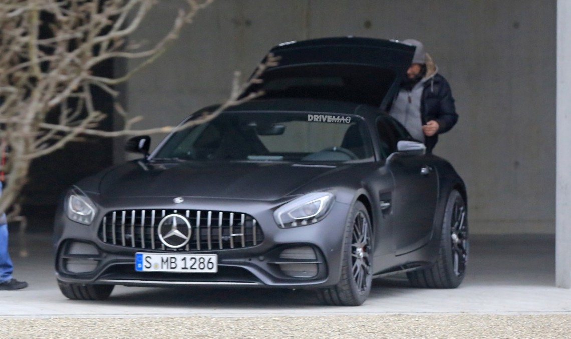 Mercedes-AMG GT C Coupe with 557 hp is here – FIRST-EVER PICS