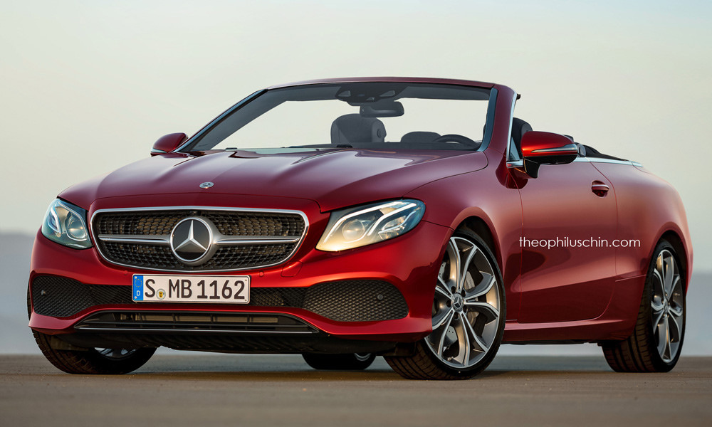 All-new Mercedes E-Class Cabrio rendered. Would you love it?