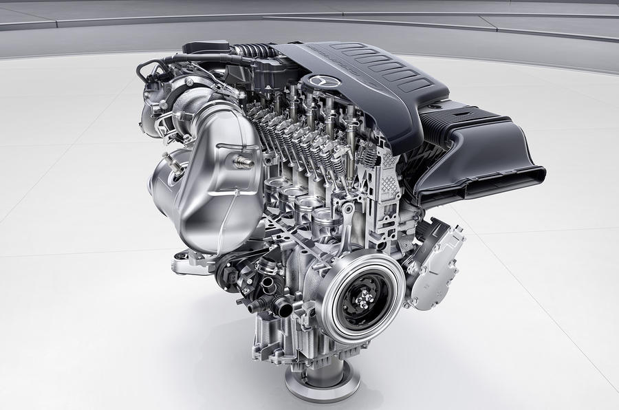 Mercedes M256