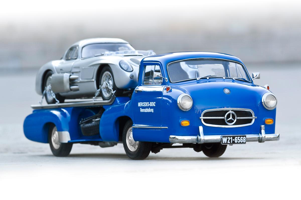 Cmc Mercedes Benz The Blue Wonder 1 18 In Depth Review Mercedesblog