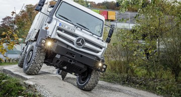 Drive the Unimog off-road at Mercedes' Gaggenau Museum