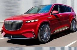 The Mercedes-Maybach SUV rendered – 2018 can't come soon enough!