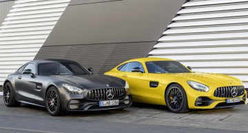 The year of the sports cars – Mercedes-AMG GT S facelift and the Mercedes-AMG GT C Coupe arrived in Detroit