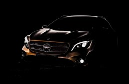 New Mercedes-Benz GLA facelift shows sexy curves in teaser photo