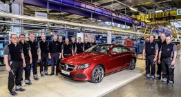 All-new Mercedes E-Class Coupe production starts in Bremen