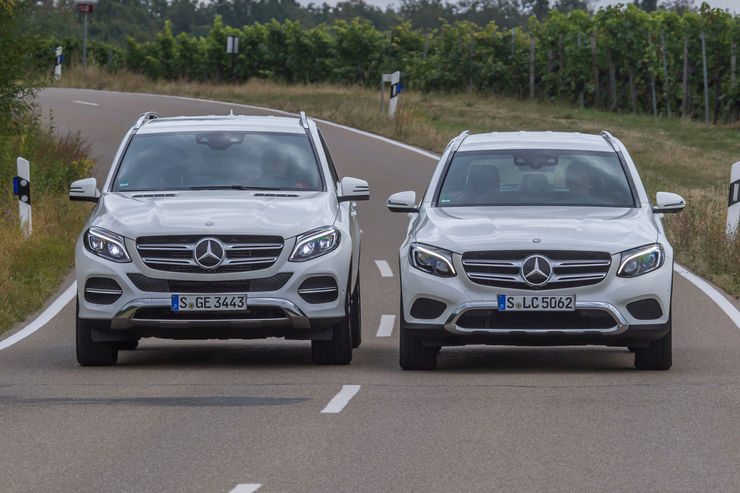 Mercedes versus Mercedes: GLC or GLE, which is the best?