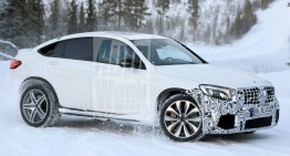 Mercedes-AMG GLC 63 gets ready for Coupe outfit – FIRST PICS