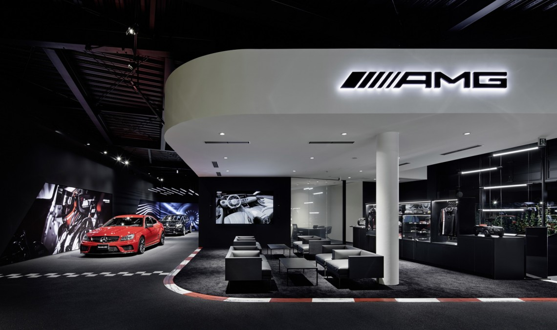 First ever standalone Mercedes-AMG showroom opens in Tokyo