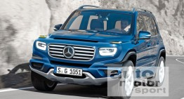Mercedes GLB: Family SUV with seven seats – FIRST SPY PICS
