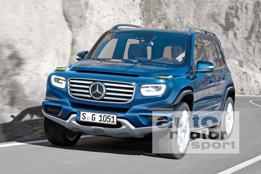 Compact Suv Australia >> Mercedes GLB: Family SUV with seven seats - FIRST SPY PICS - MercedesBlog