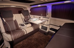 REDLINE Engineering turns Mercedes V-Class into a mobile office