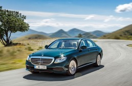 Mercedes-Benz E 350 e passed the test. The plug-in hybrid Benz got the Environmental Certificate