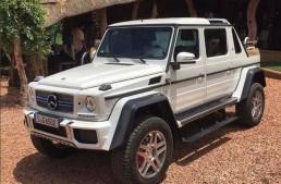 So bad at keeping secrets! More photos of the Mercedes-Maybach G 650 Landaulet, interior revealed