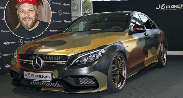 Crazy Mercedes-AMG C 63 S by Sidney Hoffmann now for sale