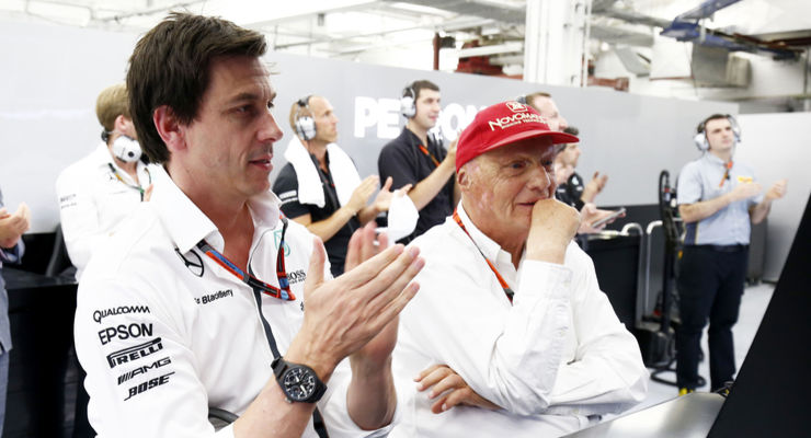 They are here to win! Toto Wolff and Niki Lauda renew contracts with Mercedes until 2020