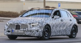All-new Mercedes A-Class coming next year – NEW SPY PICS