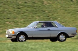 40th anniversary of Mercedes C123, the E-Class Coupe grandfather