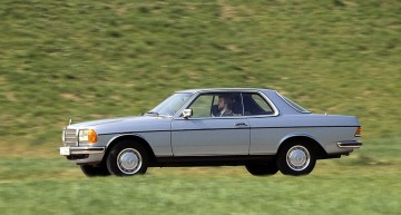 40th anniversary of Mercedes C123, the E-Class Coupe grandfather