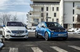 Electric car saga: Mercedes B 250 e vs. BMW i3 94 Ah
