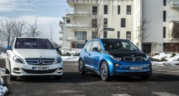 Electric car saga: Mercedes B 250 e vs. BMW i3 94 Ah