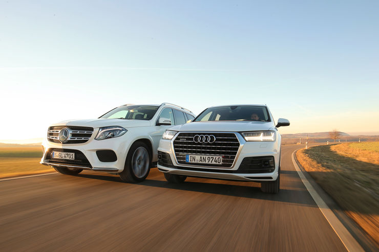 Audi Q7 3.0 TDI vs. Mercedes GLS 350 D: 5 meter SUVs in comparison test