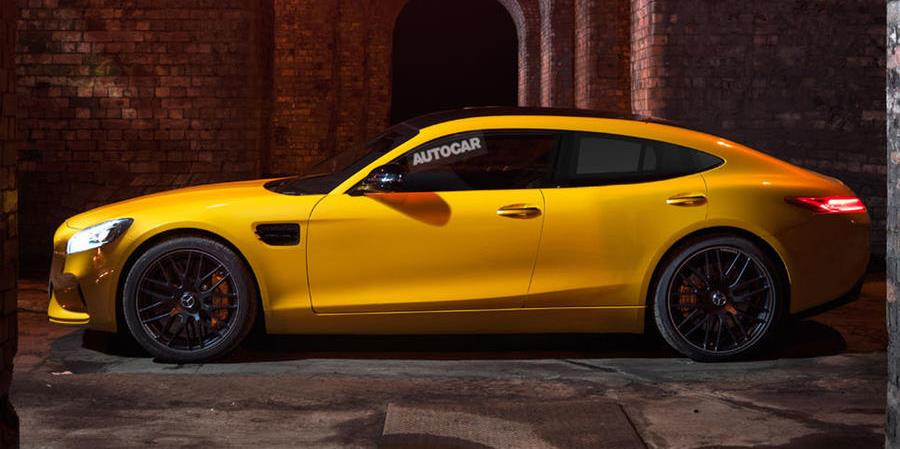 Mercedes-AMG GT4: Four-door AMG GT concept coming next month