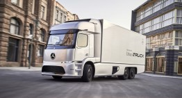 Electric Mercedes eTruck production model coming this year
