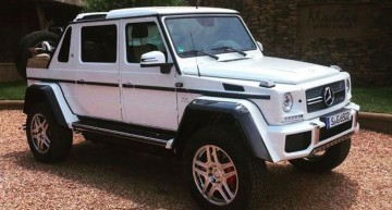 This is it! Mercedes-Maybach G 650 Landaulet leaked