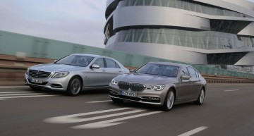 Plug-in Hybrid luxury limo test: Mercedes S 500 e versus BMW 740Le