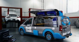 Mercedes-Benz Vito as Toolbox Concept: Swiss knife on wheels