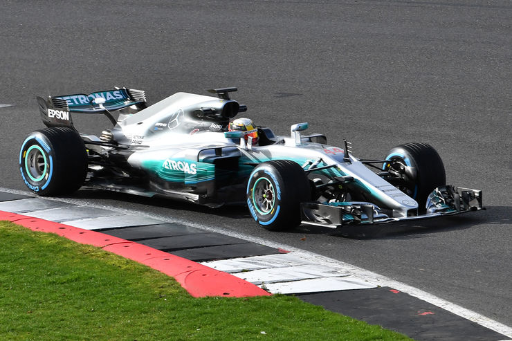 Mercedes W08 Hybrid EQ Power + Formula 1 car is official