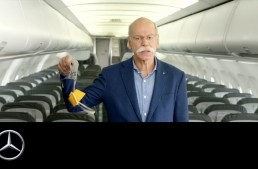 Fly with us into the future – Daimler CEO plays the flight attendant