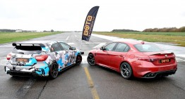 Drag race: How a Mercedes-AMG A45 beats the Alfa Romeo Giulia QV