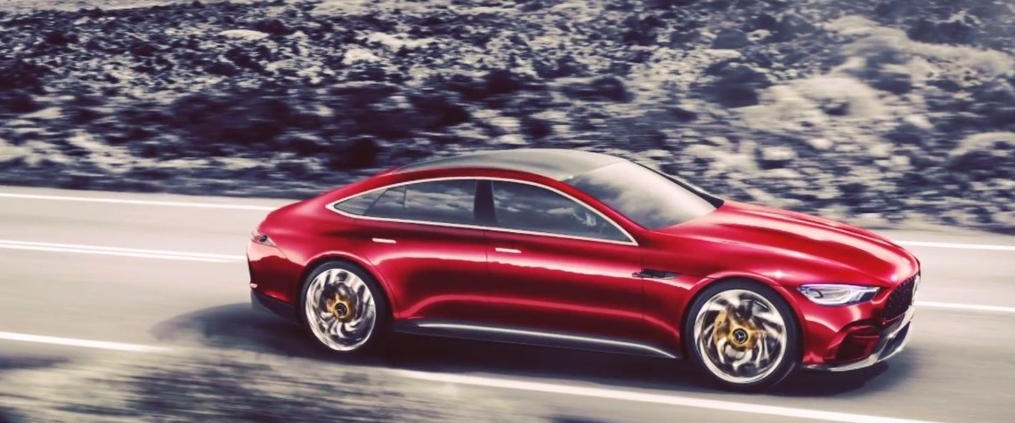 Mercedes-AMG GT4 is here! Video of the 4-door GT leaked