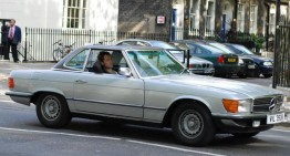 Actor Jude Law crashes his classic Mercedes into cab in London