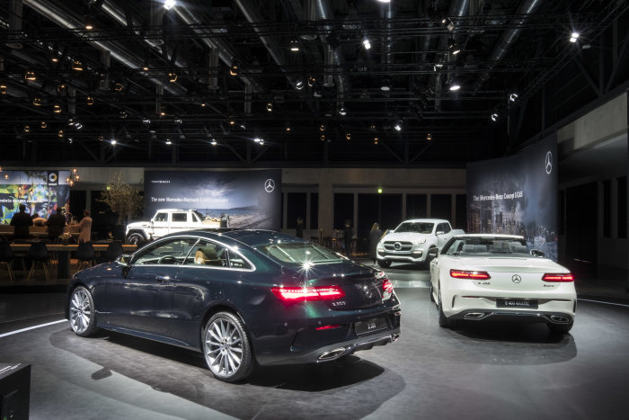 LIVE FROM GENEVA: Watch Mercedes-Benz presenting the company's brand-new cars right here!