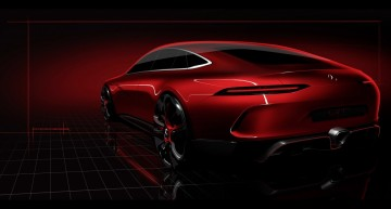 Mercedes-AMG GT 4 Concept is here: FIRST TEASER