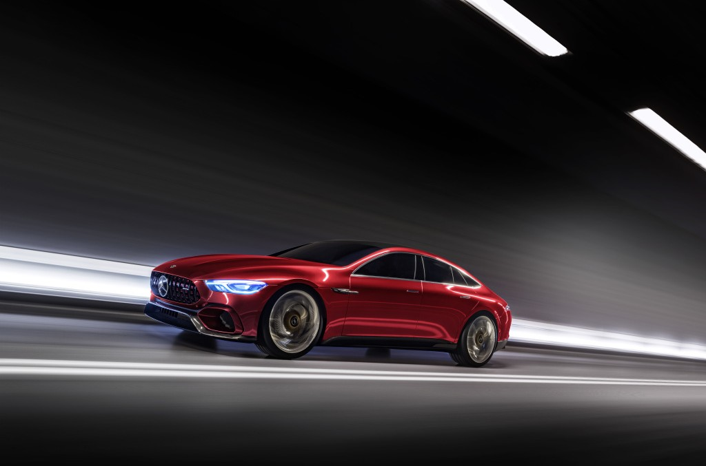 OFFICIAL: Mercedes-AMG GT Concept – The first performance hybrid car by AMG