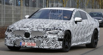Close to production Mercedes-AMG GT4 caught for the first time
