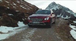 Best foot forward – Mercedes-Benz E-Class All-Terrain shows off in new ad